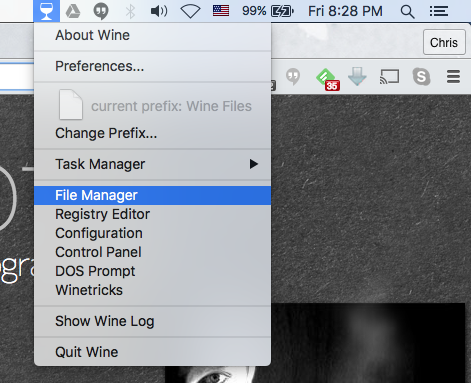 Install watchtower library on mac