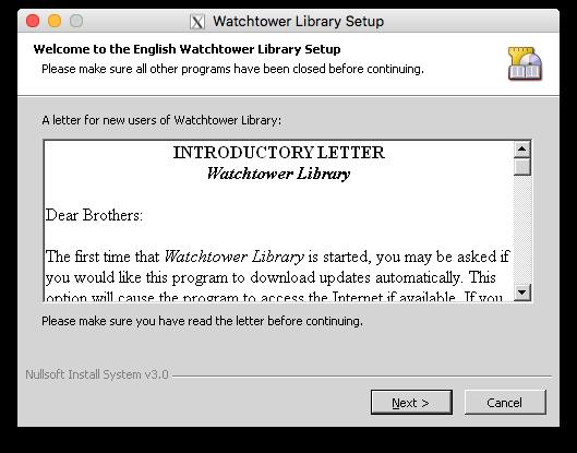 watchtower library para mac 2012